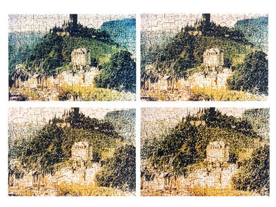 Mabe Bethônico, 'Puzzle', 2000