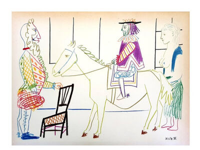 "Pablo Picasso, 'Lithograph ""Human Comedy"" after Pablo Picasso', 1954"