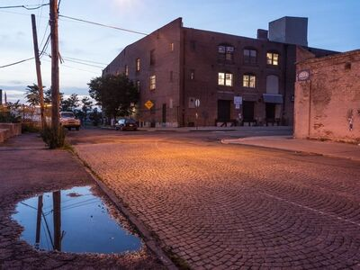 Lee Backer, 'Van Dyke Street, Red Hook'