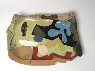 John Gill, 'Platter #8', 2015
