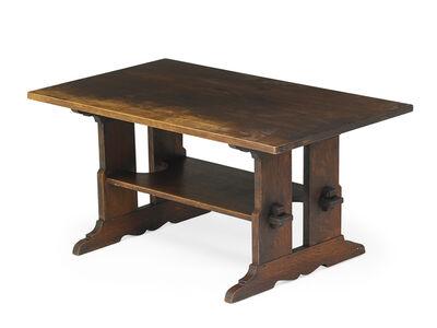 L. & J.G. Stickley, 'Trestle table', ca. 1912-18
