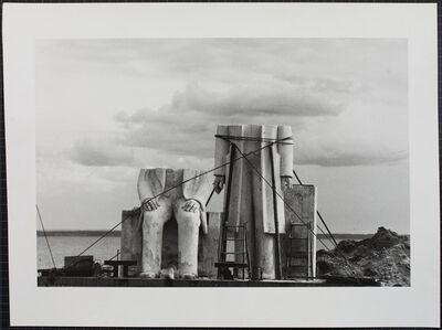 Das Denkmal, Gummlin, Usedom, Mai 1984