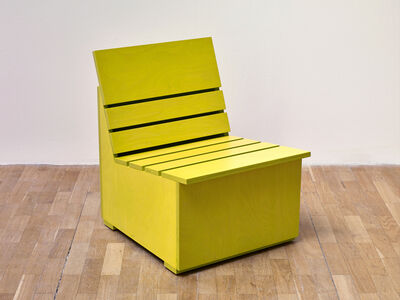 Sunny Chair for Whitechapel (2016) (Chartreuse)