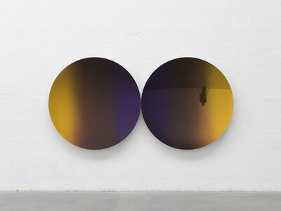 Anish Kapoor, 'Mirror (Purple and Wild Cherry mix to Pagan and Lime Gold mix)', 2017