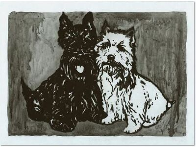 Peter Doig, 'Double Dog Mappe'
