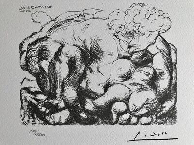 Pablo Picasso, 'L'étreinte III (Suite Vollard Planche XXXI)', 1973