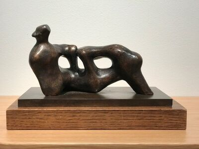 Henry Moore, 'Reclining Figure: Holes', 1975