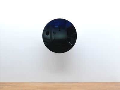 Anish Kapoor, 'Mirror (Cobalt Blue to Black / Green)', 2016