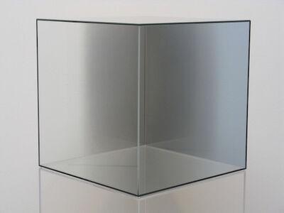 Larry Bell, 'Cube #42 (Gray) ', 2005