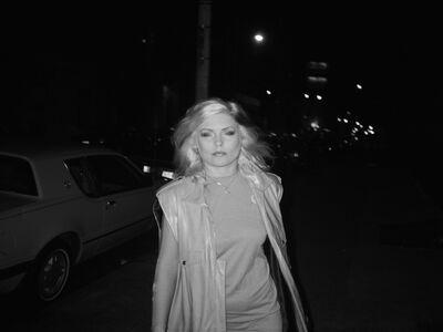 Debbie Harry Walking the Street