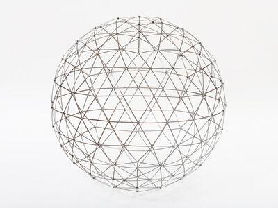 Chris Beeston, 'Sphere 2 (Street Sweeper Bristles)', 2017