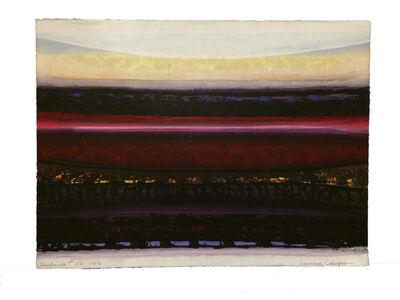 Lawrence Calcagno, 'Sunbands #22', 1982
