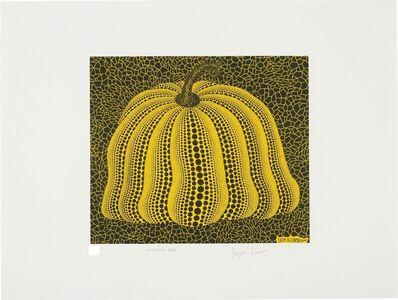 Yayoi Kusama, 'Pumpkin 2000 (Yellow)', 2000