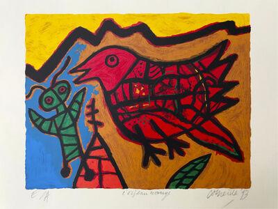Guillaume Corneille, 'L'oiseau Rouge ', 1993