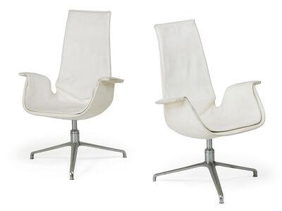 Preben Fabricius, 'Pair of tall back Bird chairs', 1970s