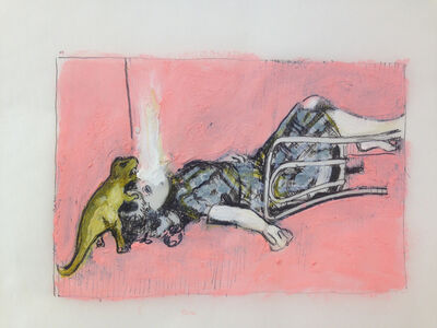 Mercedes Helnwein, 'Living Room II'