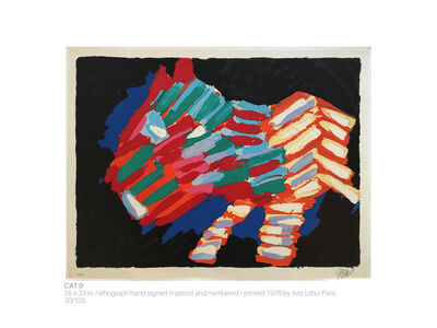 Karel Appel, 'CAT 9 (from the CATS SUITE 17)', 1978