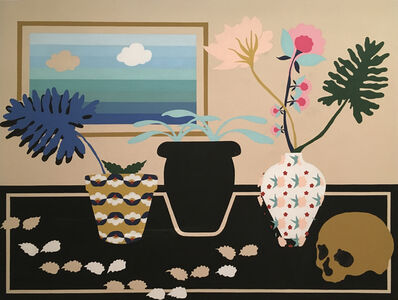 Stephen D'Onofrio, 'Still Life with Three Plants', 2017
