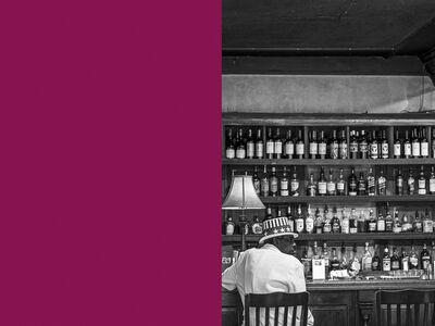 Wendel Wirth, 'Man in Bar', 2017
