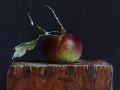 Wild Apple on a Box