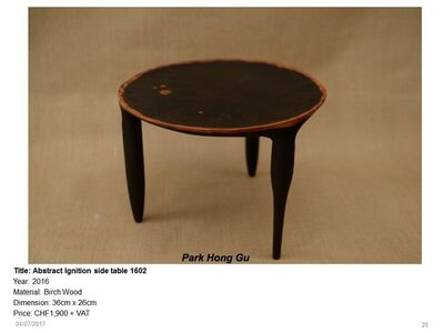 Abstract Ignition side table 1602