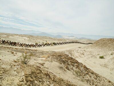 Richard Misrach, 'Normandy Wall Near Ocotillo, California', 2015