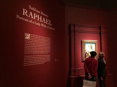 "Sublime Beauty: Raphael's ""Portrait of a Lady with a Unicorn"""