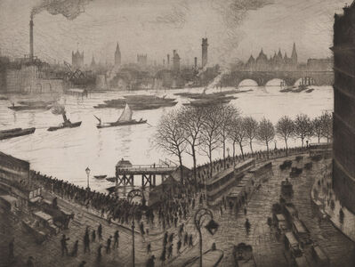 Christopher Richard Wynne Nevinson, 'Blackfriars', 1926/27