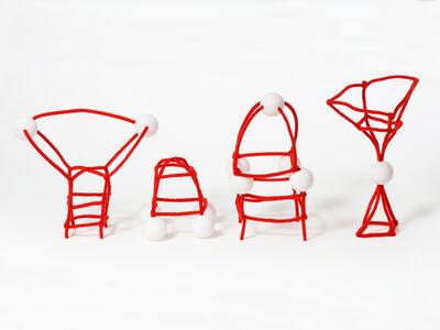 Light Paperweight Sculptures