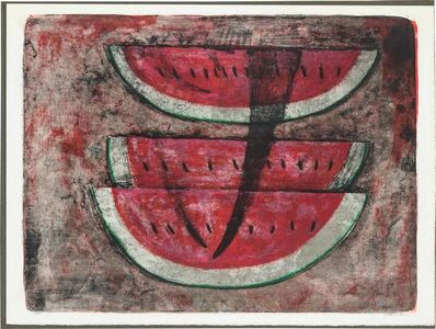 Rufino Tamayo, 'SANDÍA #1 (P. 118)', 1969