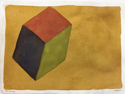 Sol LeWitt, 'Form Derived From a Cube', 1987