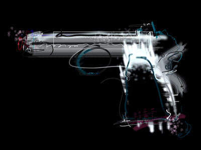 Roz Dimon, 'Airsport Gun', 2016-2018