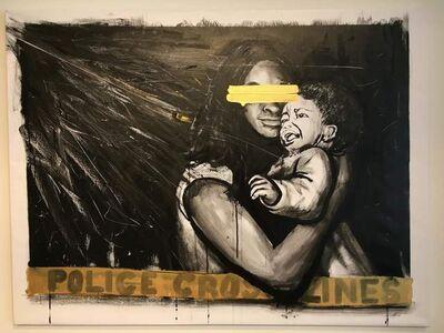Dareece Walker, 'Police Cross lines 3', 2015
