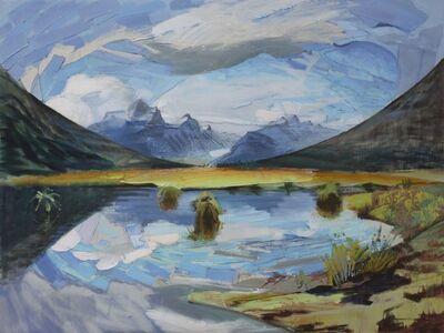 Mike Glier, 'February 1, 2012: Diamond Lake Marsh, Glenorchy, New Zealand'