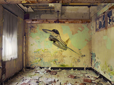 Dave Jordano, 'Room Detail 2, Chanute AFB, Rantoul, Illinois', 2007