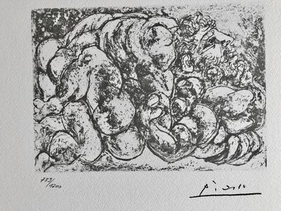 Pablo Picasso, 'Accouplement I (Suite Vollard Planche XXXIX)', 1973