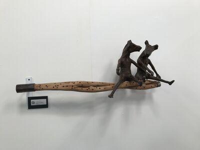 Mamady Seydi, 'Lu nëbbu doon kumpa (What is covered excites curiosity)', ca. 2018