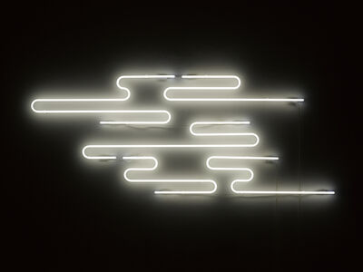 Neon forms (resembling clouds...)