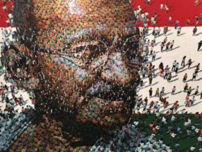 Syaiful Rachman, 'Gandhi', 2017