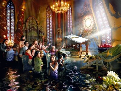 David LaChapelle, 'After the Deluge: Cathedral', 2007