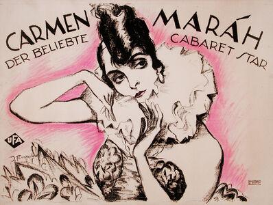 Josef Fenneker, 'Carmen Marah - Cabaret Star - Theater - Dance', ca. 1920