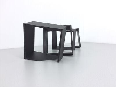 Thomas Lendvai, 'Four Units Black', 2017