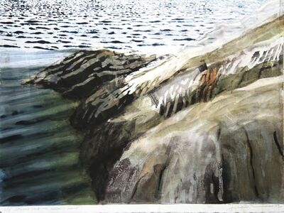 Joel Janowitz, ' Striped Landscape: Sebasco Maine b/d ', 2012