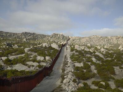 Richard Misrach, 'Wall, Tierra Del Sol, California', 2014