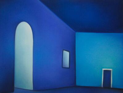 Margaret nes, 'Light into Blue Room 19-11', 2019