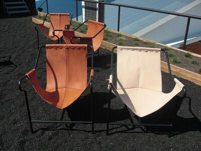 Lúcia Prancha, 'Sat on top of Brazil: replicas of Lina Bo Bardi's chairs', 2012