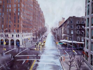 Ellen Bradshaw, 'Wintry Crossroad, 10th Ave & 23rd St ', 2014
