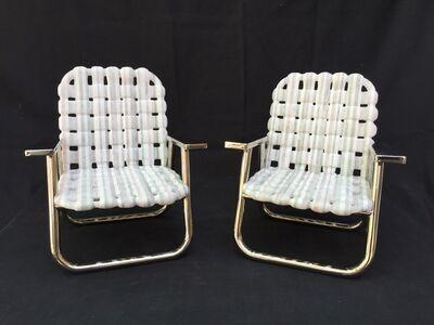 Mid Century Pool Chair