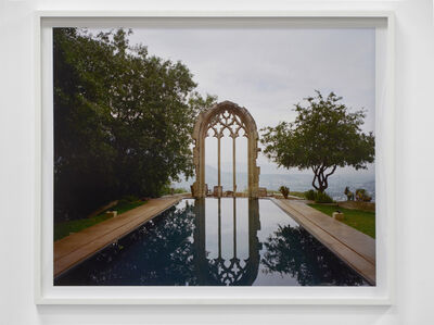 Pool with Arch