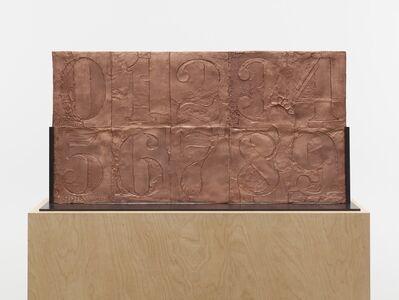 Jasper Johns, '0-9', 2009-2012